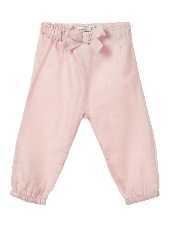 08f10b104 Name It barneklær - Bukse i bomull Strawberry - Guttelus.no