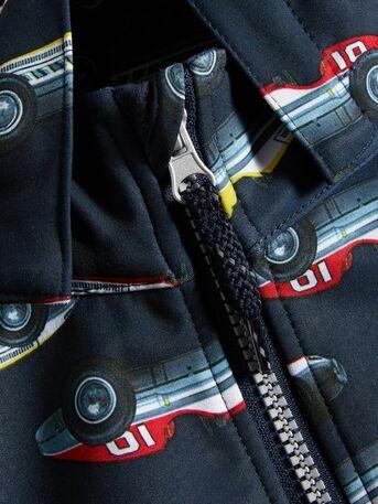 449394f12 Name It barneklær - Softshell dress med biler - Guttelus.no